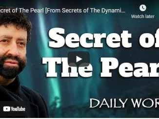 Rabbi Jonathan Cahn - Secret of The Pearl