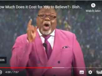 Bishop TD Jakes Sermons - How Much Does it Cost for You to Believe?