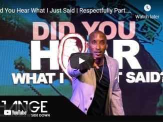 Dr. Dharius Daniels Sermons: Did You Hear What I Just Said