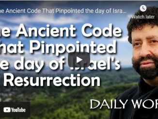 Jonathan Cahn - The Ancient Code That Pinpointed the day of Israel's Resurrection