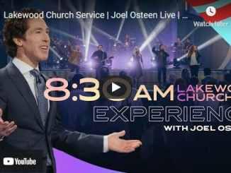 Lakewood Church Sunday Live Service May 16 2021