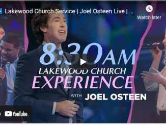 Lakewood Church Sunday Live Service May 2 2021