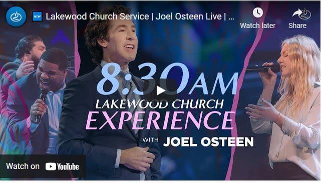 Lakewood Church Sunday Live Service May 2 2021