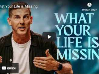Pastor Craig Groeschel Sermon - What Your Life is Missing