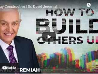 Pastor David Jeremiah Sunday Sermon May 30 2021