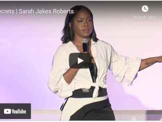 Pastor Sarah Jakes Roberts Sermon - Secrets