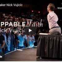 Pastor and Motivational Speaker Nick Vujicic At Elevate Life Church