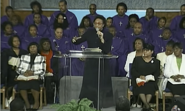 Bishop Jackie McCullough Sermon 2021 - Be Opened