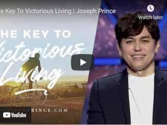 Pastor Joseph Prince Sermon: The Key To Victorious Living