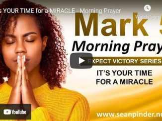 Pastor Sean Pinder Morning Prayer Session June 24 2021