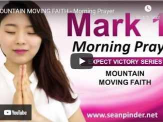 Pastor Sean Pinder Morning Prayer Session June 25 2021