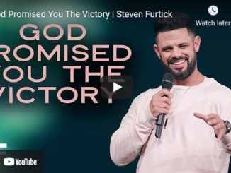 Pastor Steven Furtick Sermons: God Promised You The Victory