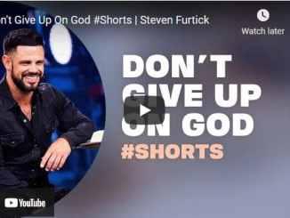 Pastor Steven Furtick #Shorts: Don't Give Up On God