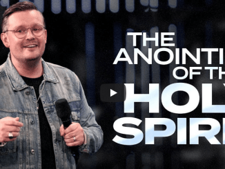 David Hall Sermons - The Anointing of the Holy Spirit
