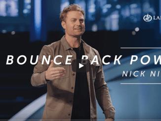 Pastor Nick Nilson Sermons - Bounce Back Power
