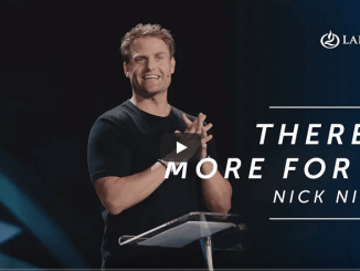 Pastor Nick Nilson Sermons - There Is More For You