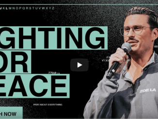 Chad Veach Sermons - Fighting For Peace