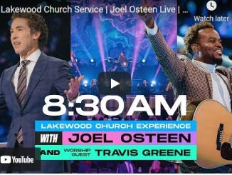 Lakewood Church Sunday Live Service July 25 2021