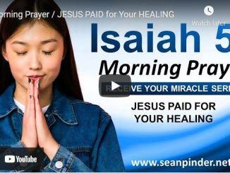 Pastor Sean Pinder Morning Prayer Session July 22 2021