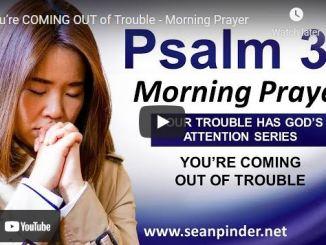 Pastor Sean Pinder Morning Prayer Session July 6 2021