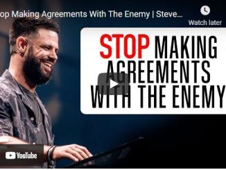 Pastor Steven Furtick Sermon: Stop Making Agreements With The Enemy
