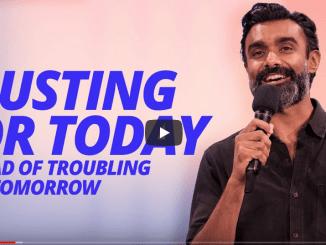 Chrishan Jeyaratnam Sermons - Trusting For Today