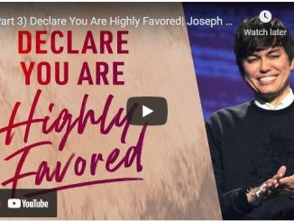 Pastor Joseph Prince: Declare You Are Highly Favored (Part 3)