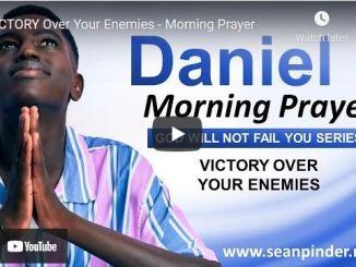 Pastor Sean Pinder Morning Prayer Session August 12 2021
