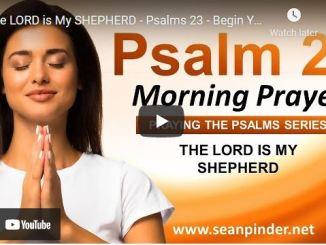 Pastor Sean Pinder Morning Prayer Session August 20 2021