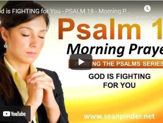 Pastor Sean Pinder Morning Prayer Session August 23 2021