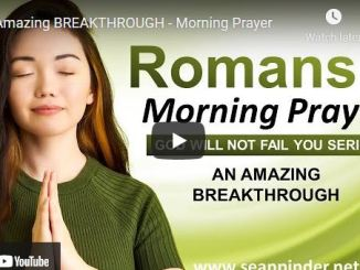 Pastor Sean Pinder Morning Prayer Session August 4 2021