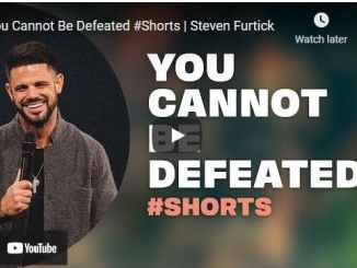 Pastor Steven Furtick Message: You Cannot Be Defeated