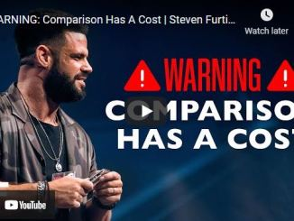 Pastor Steven Furtick: WARNING: Comparison Has A Cost