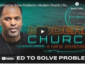 Pastor Touré Roberts Sermon: Anointed to Solve Problems