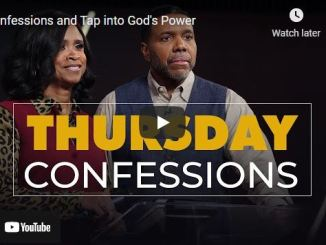 Thursday Confessions With Pastor Creflo Dollar and Taffi Dollar