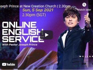 New Creation Church Sunday Live Service September 5 2021