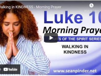 Pastor Sean Pinder Morning Prayer Session September 3 2021