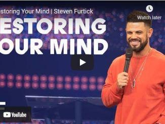 Pastor Steven Furtick Sermon September 16 2021: Restoring Your Mind