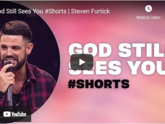 Pastor Steven Furtick #Shorts: God Still Sees You