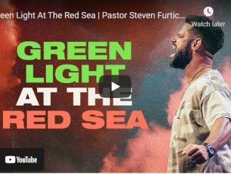 Pastor Steven Furtick Sunday Sermon: Green Light At The Red Sea