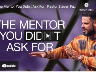 Pastor Steven Furtick Sunday Sermon: The Mentor You Didn't Ask For