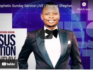 Prophetic Sunday Service With Shepherd Bushiri September 5 2021