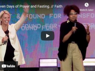 Transformation Church: Seven Days of Prayer and Fasting   Day 2