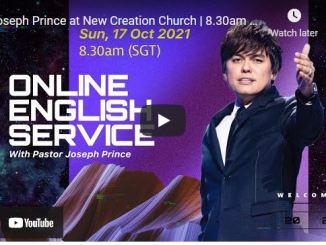New Creation Church Sunday Live Service October 17 2021