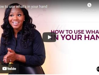 Sarah Jakes Roberts Message: How to use what's in your hand