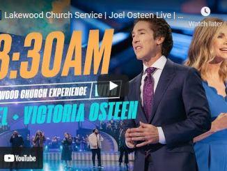 Sunday Live Service At Lakewood Church October 24 2021