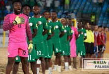 Photo of Supersand Eagles off to Paraguay for FIFA Beach Soccer World Cup