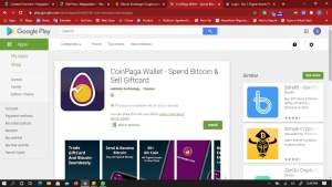 coinpaga on google playstore