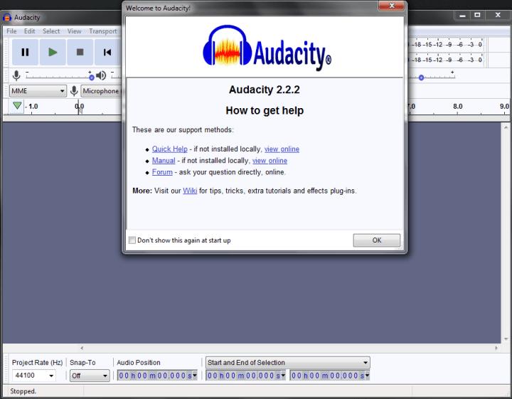 Audacity Audio Editing Software