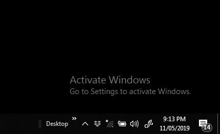 notification: windows 8, activate window